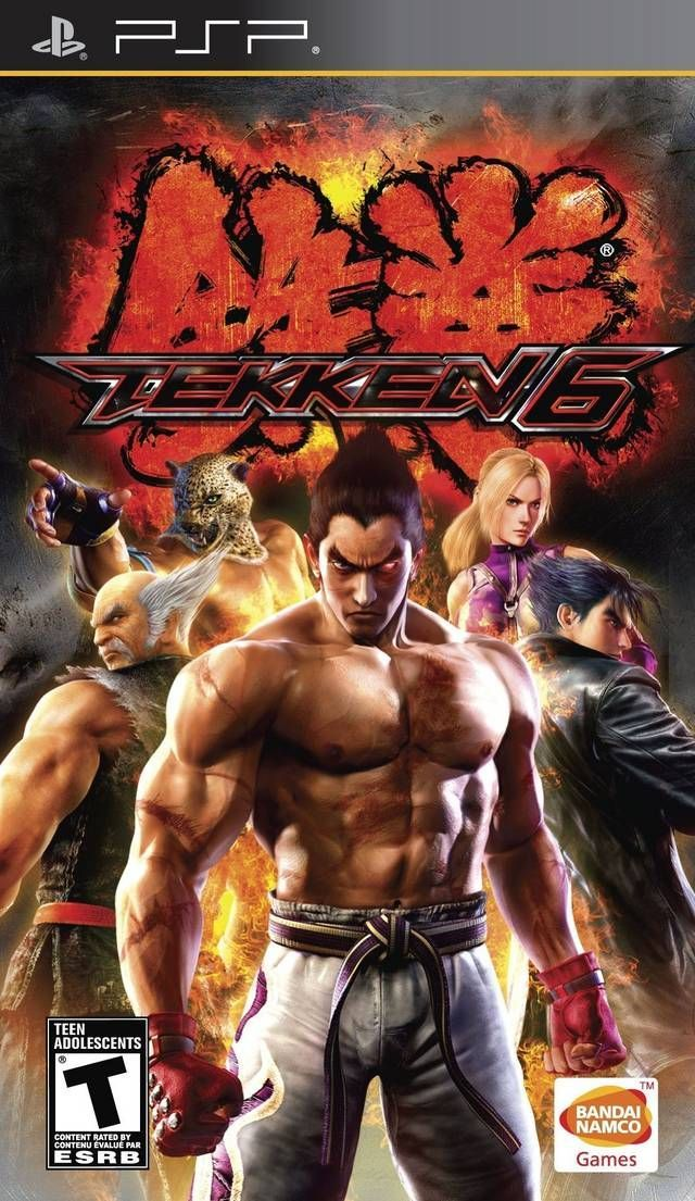 Tekken 6 ISO PSP PPSSPP Android Download Pesgames Xbox