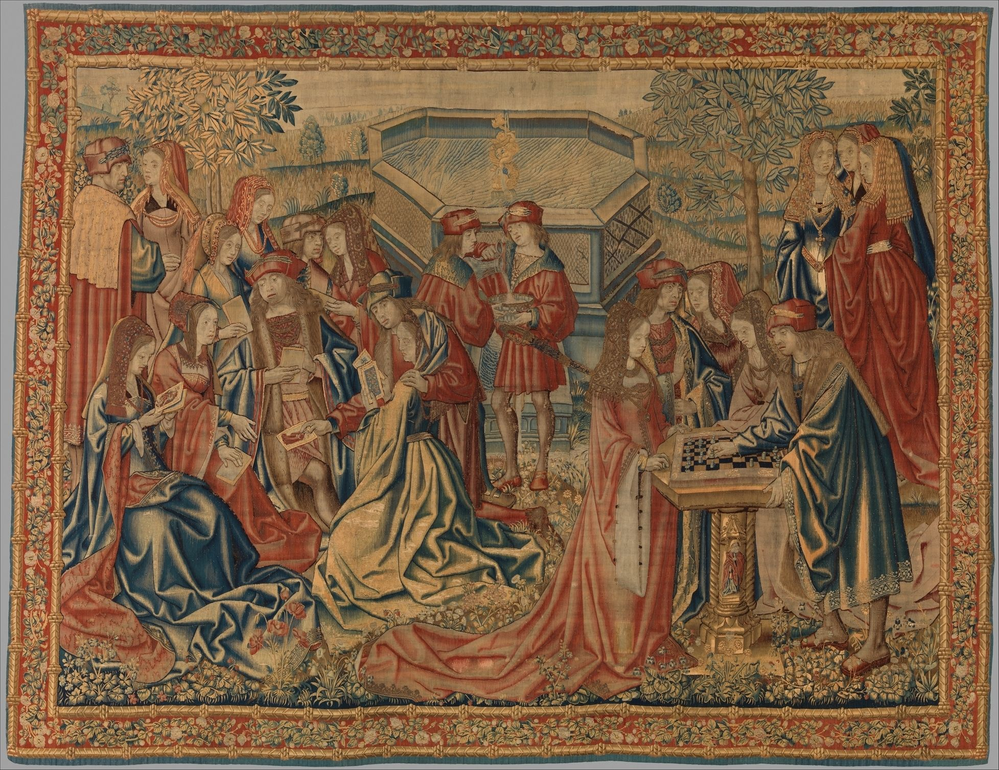 The Garden of Love Date: ca. 1510–20 Geography: Made in Brussels ...