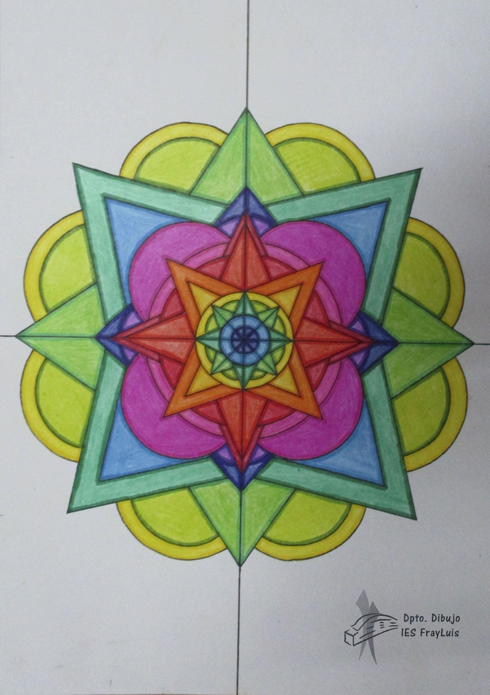 Simetria Radial 4 Eva Olmo Simetria Dibujos Fondo De Pantalla De Frozen