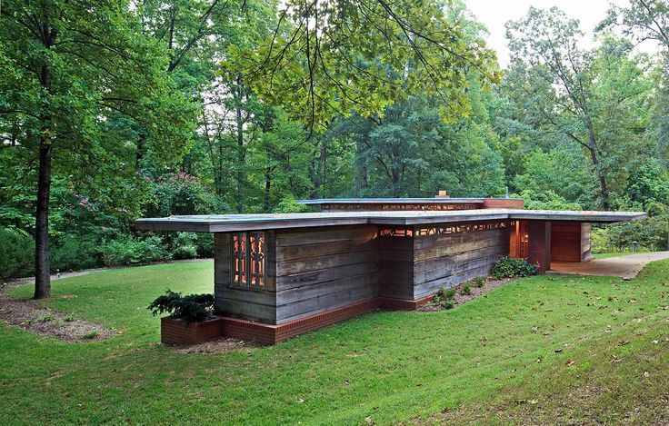 frank lloyd wright pope leighey house alexandria va architektura pinterest. Black Bedroom Furniture Sets. Home Design Ideas