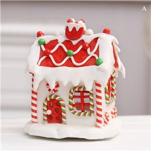 Weihnachten Schnee Haus Weihnachtsdeko