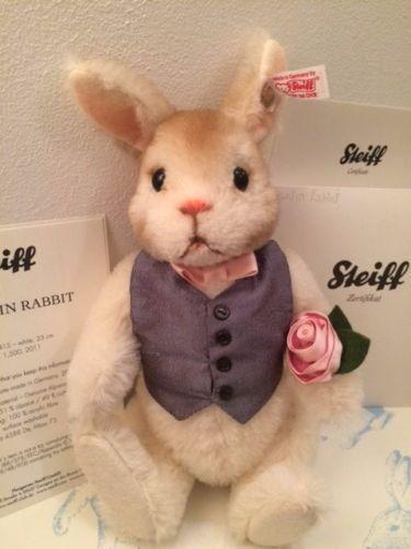 Steiff-Valentine-Rabbit-Limited-Edition-No-Reserve-Boxed