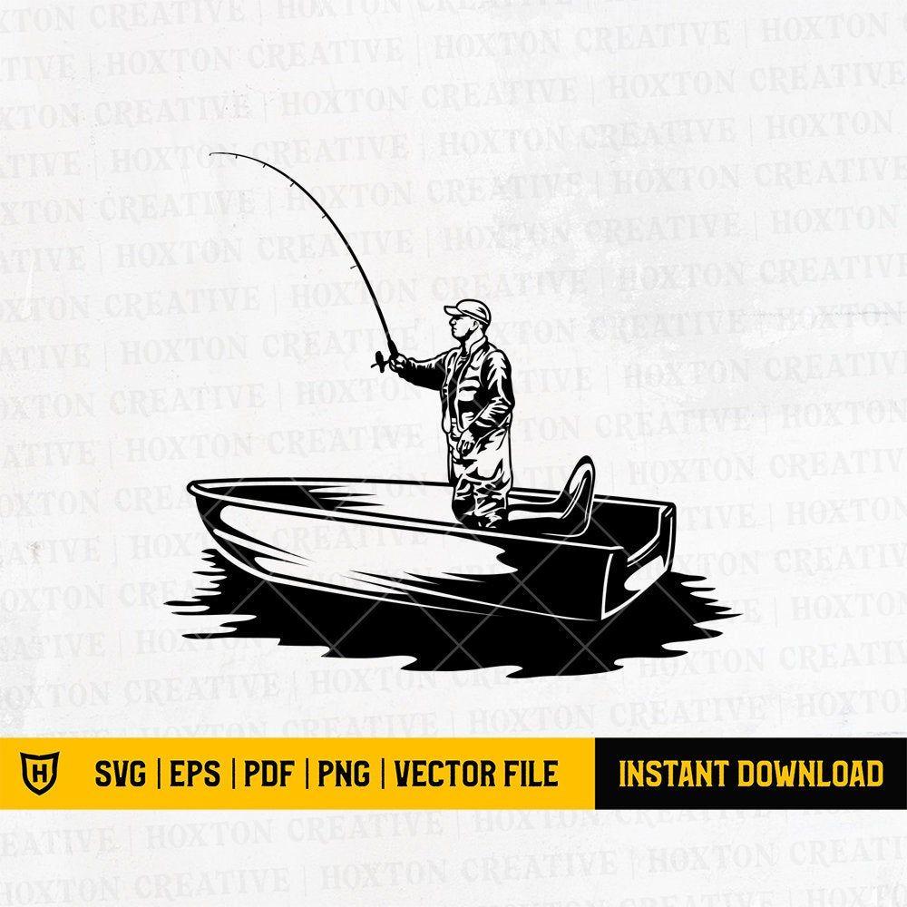 Download Fisherman Svg File Fish Svg Fishing Boat Svg Fishing Etsy In 2021 Fisherman Svg Fish Svg Fishing Boat Svg