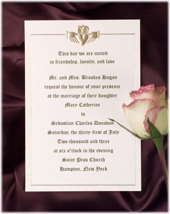 Small Celtic Wedding Ideas Wedding Invitation Saying Ideas Poetry