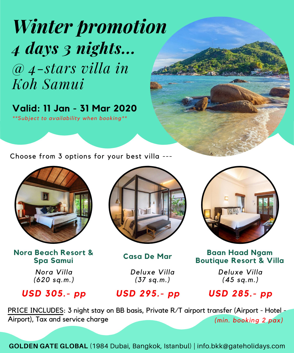 Stay At Luxury Villa With Private Pool In Koh Samui Thailand