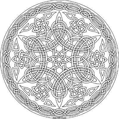15 Amazingly Relaxing Free Printable Mandala Coloring Pages for Adults #mandala