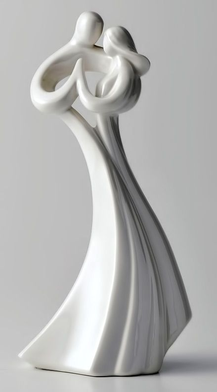 Sculptural Dance Figures Modern Art Sculpture Ceramic Sculpture Modern Sculpture