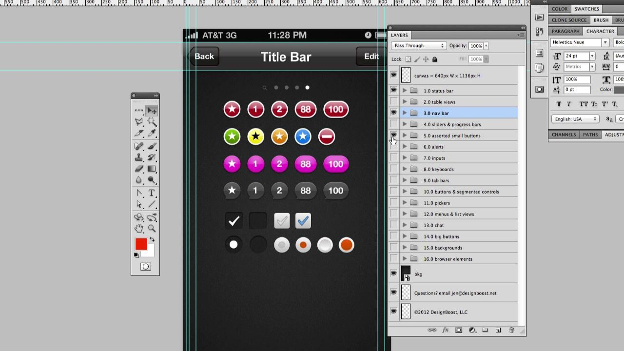 iPhone App Template Pack App template, Iphone apps
