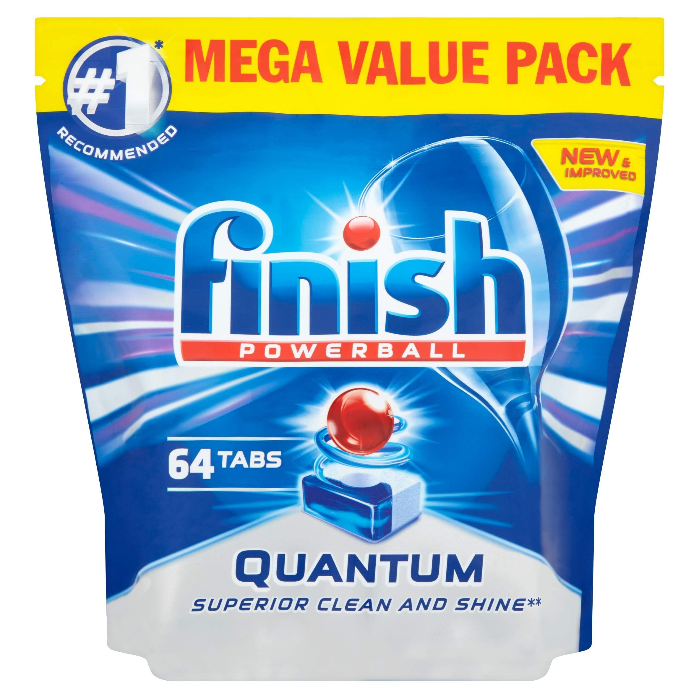 Finish Quantum Max Original Tablets Pack Of 64 Dishwasher
