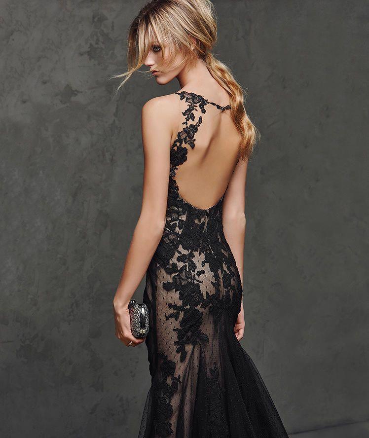 e4aeadcb3 LASTA - Vestido de fiesta sexy negro