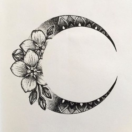 Image Result For Crescent Moon Drawing Tattoos Body Art Tattoos Moon Tattoo