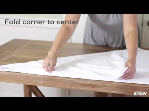 How To Fold Towels To Save Room With Images How To Fold Towels