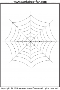 Tracing Picture Tracing Free Printable Worksheets Halloween Worksheets Halloween Worksheets Free Halloween Preschool