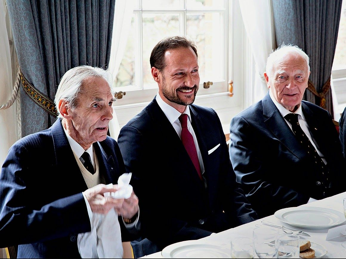 THE LUNCH  H.R.H. Crown Prince Haakon of Norway
