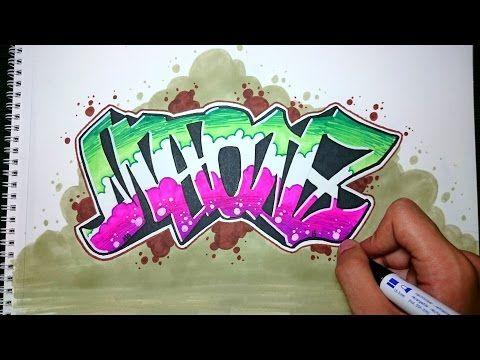 Graffiti Paso A Paso Maonz Graffiti Drawing Graffiti Characters How To Draw