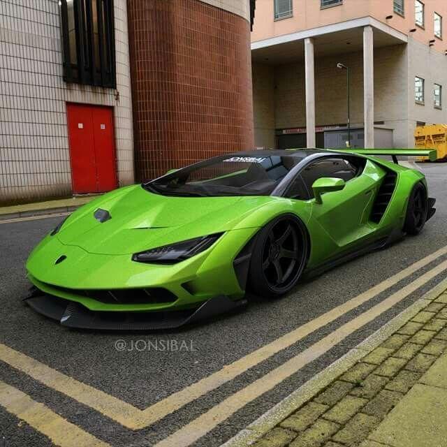 Lamborghini Centenario Wide Body Cartoons Concepts Renderings