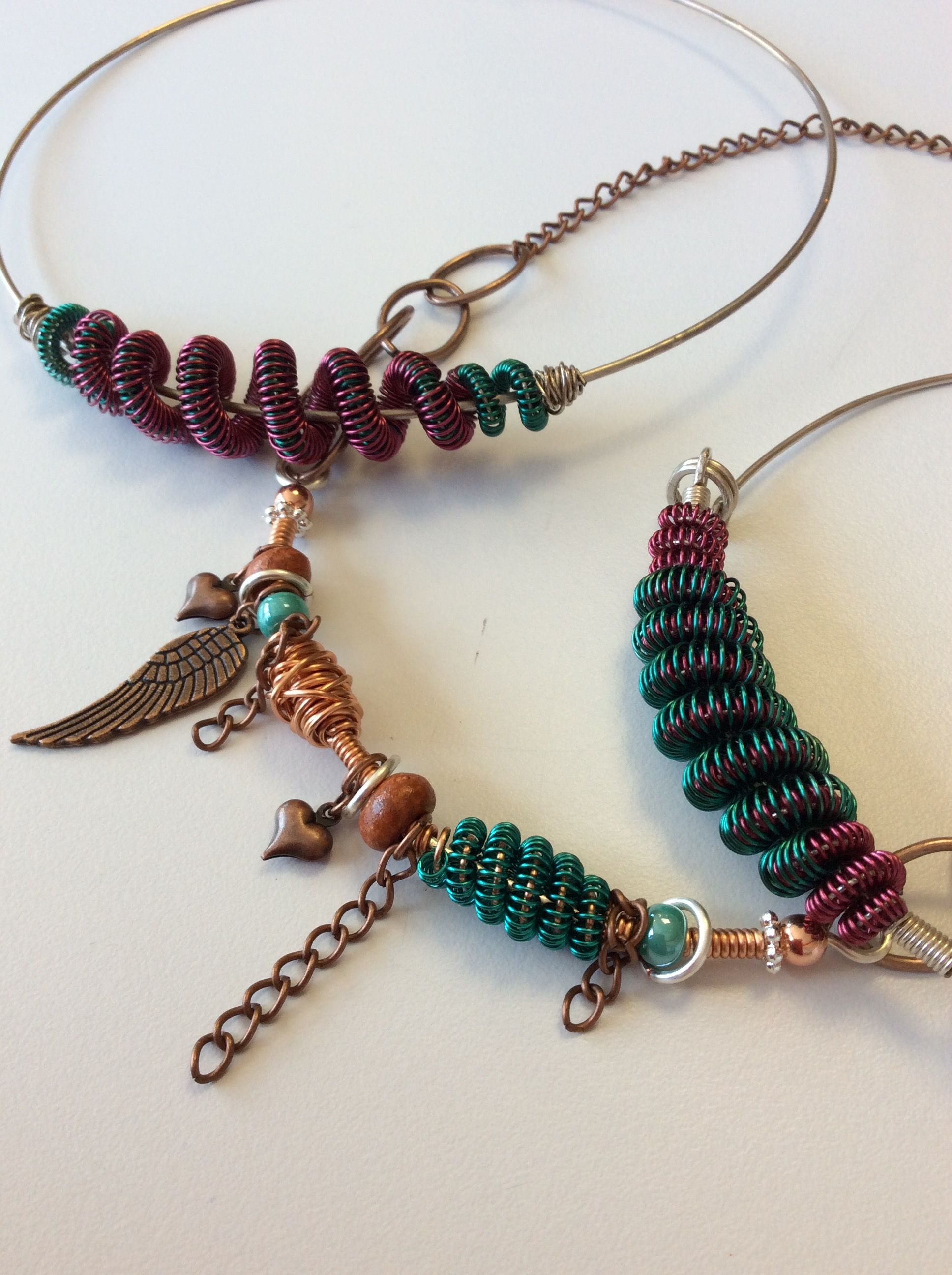 Coiling Gizmo Projects @ The Oxford Bead Shop Beaded Necklacebead