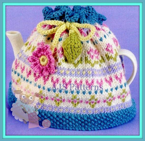 PDF knitting Pattern for a Pretty Fair Isle by ...