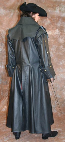 Surcoat Highwayman Leather Coat Trenchcoat