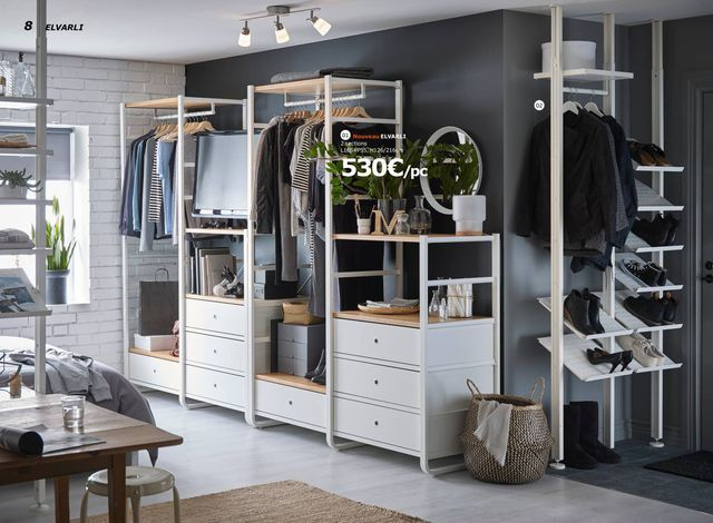 dressing et armoire ikea les nouveaut s du catalogue ikea armoires home stuff pinterest. Black Bedroom Furniture Sets. Home Design Ideas