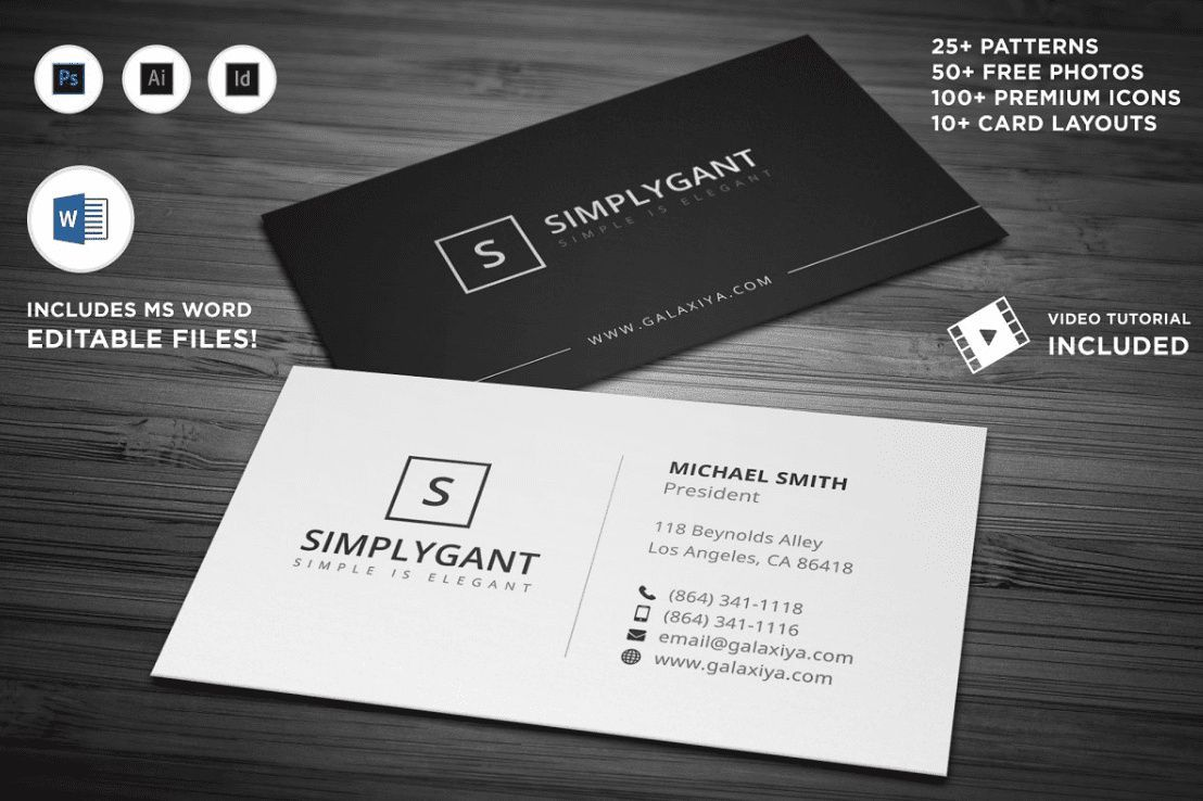 Photography Business Cards 62 Best Photography Business Cards 2021 Minimal Business Card Free Business Card Templates Simple Business Cards