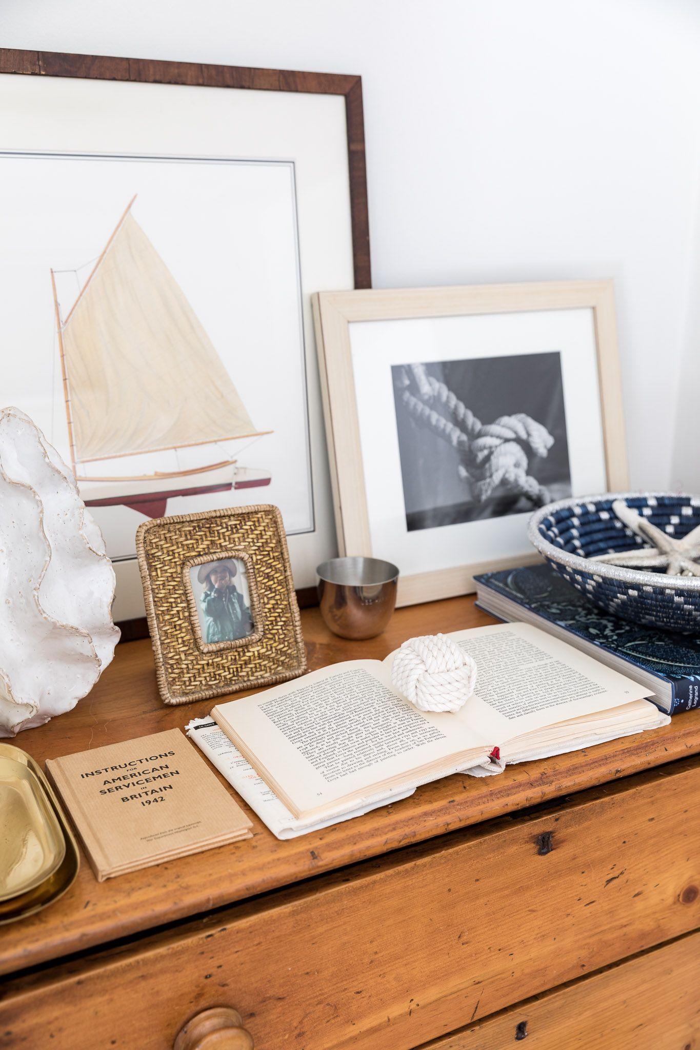 Pine Dresser Nautical Inspired Decor