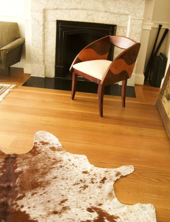 This Unusual Floor, Created For A Brooklyn Brownstone, Features A Mix Of  Plainsawn And Quarter And Rift Sawn White Oak.