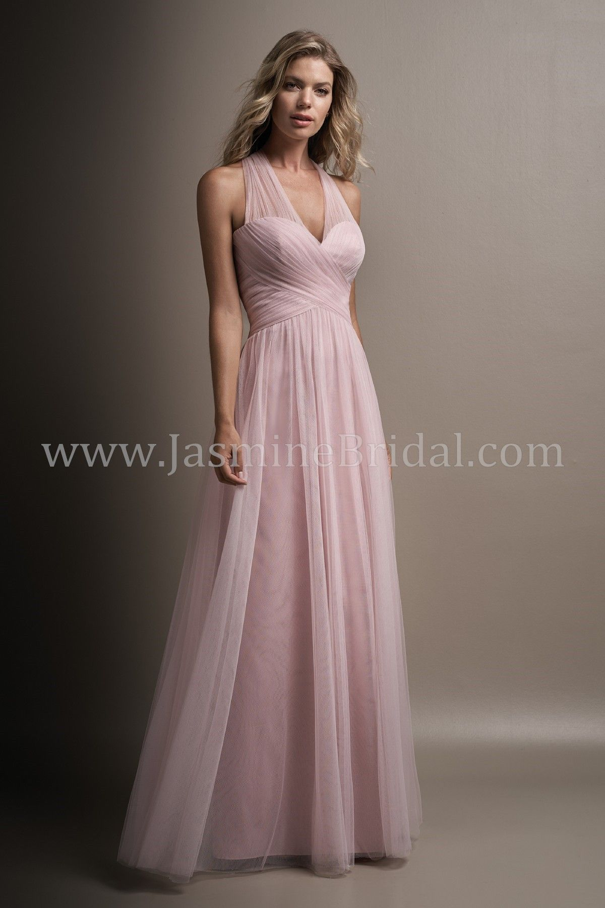 d0bf722dc05 Jasmine Bridal Belsoie Style L194004 in Misty Pink