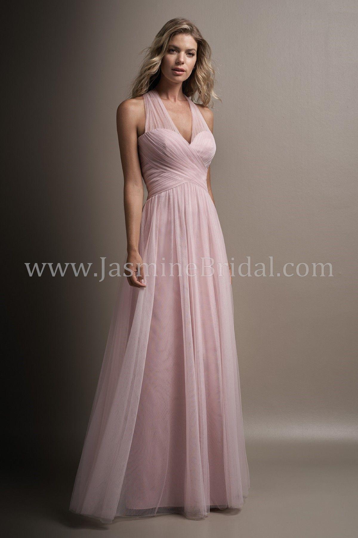 Jasmine Bridal Belsoie Style L194004 In Misty Pink