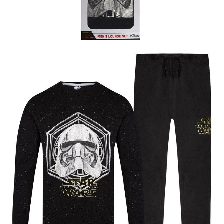 Star Wars - Pantalón de pijama - para hombre rojo negro ilhoer