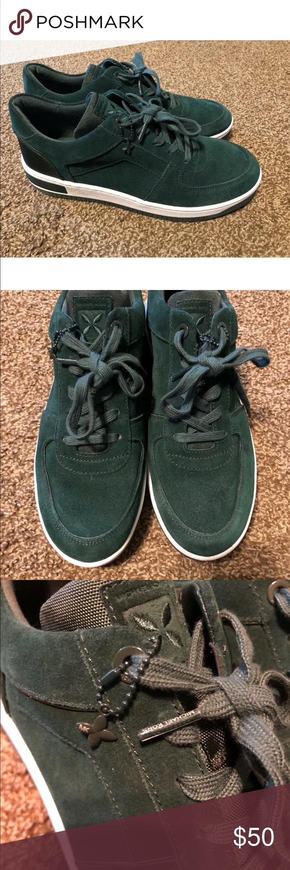 michael kors jaden suede sneaker