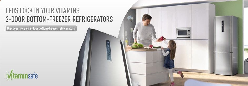 Thanks to the intelligent technology of Inverter  to the Thermodynamic cabinet, the Panasonic refrigerator achieves the excellent power label rating of A