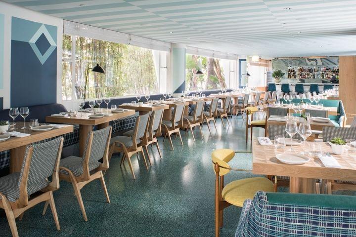 Viviane Restaurant at Avalon Hotel by Kelly Wearstler, Beverly Hills – California » Retail Design Blog