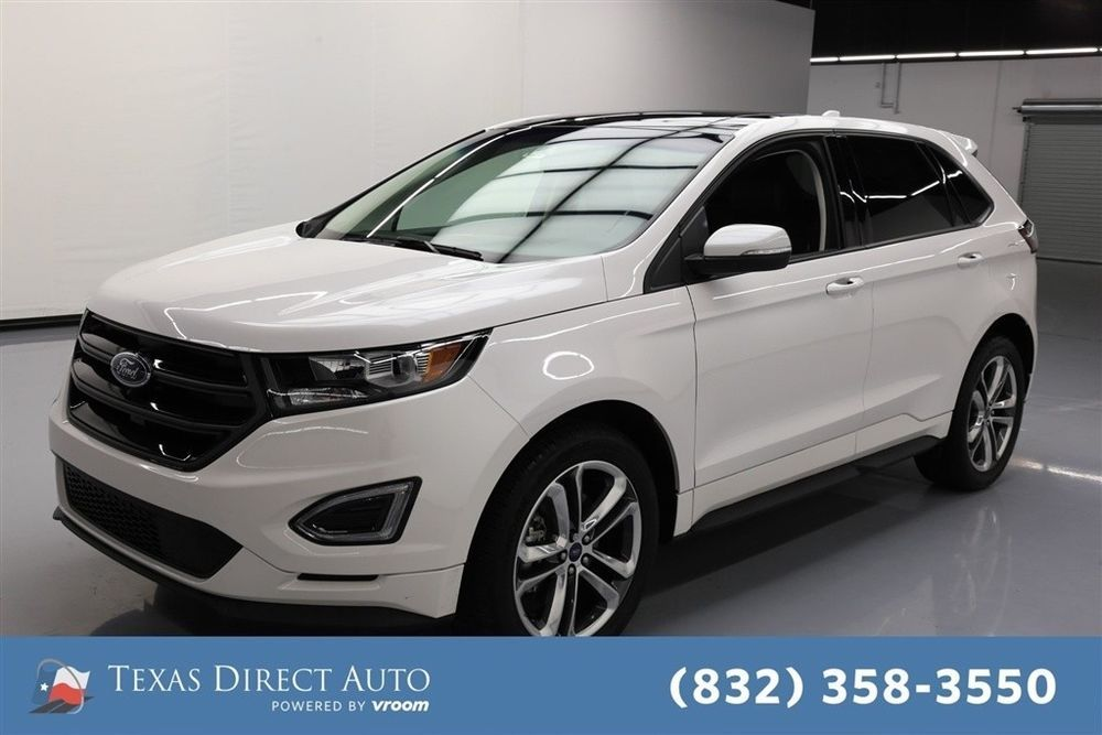 For Sale 2017 Ford Edge Sport Texas Direct Auto 2017 Sport Used Turbo 2 7l V6 24v Automatic Awd Suv Premium Ford Edge Sport Ford Edge Vehicle Shipping