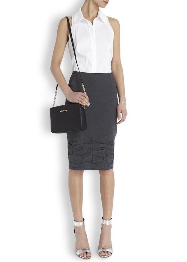 Michael Kors Black Jet Set Saffiano Leather Cross Body Bag Product 1 19288784 5 021480580 Normal