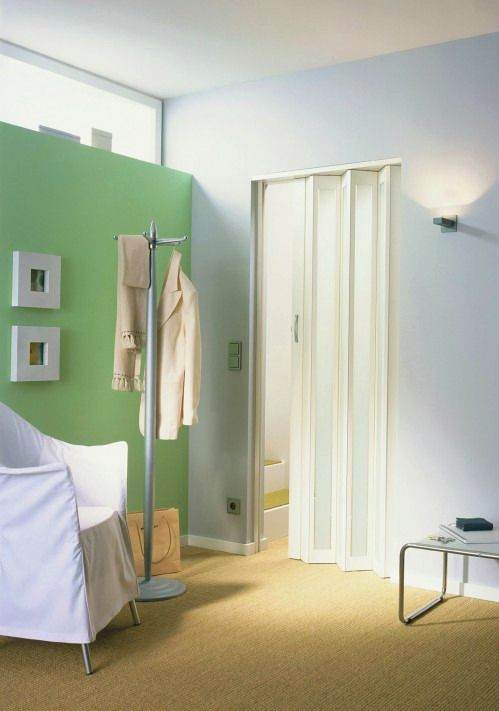 accordion bathroom doors. Accordion Doors: Transform Your Office Spaces, Bathrooms, Closets, Garages And More! #design - Whispered Inspirations Bathroom Doors D