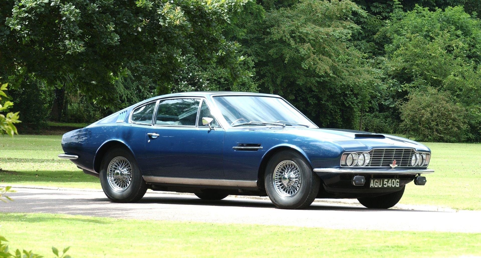 Unmistaken identity – the Aston Martin DB range is 70 years old