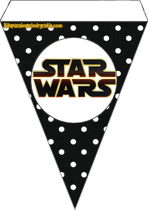 Star Wars Bebés: Mini Kit para Imprimir Gratis. | Birthday in 2018 ...