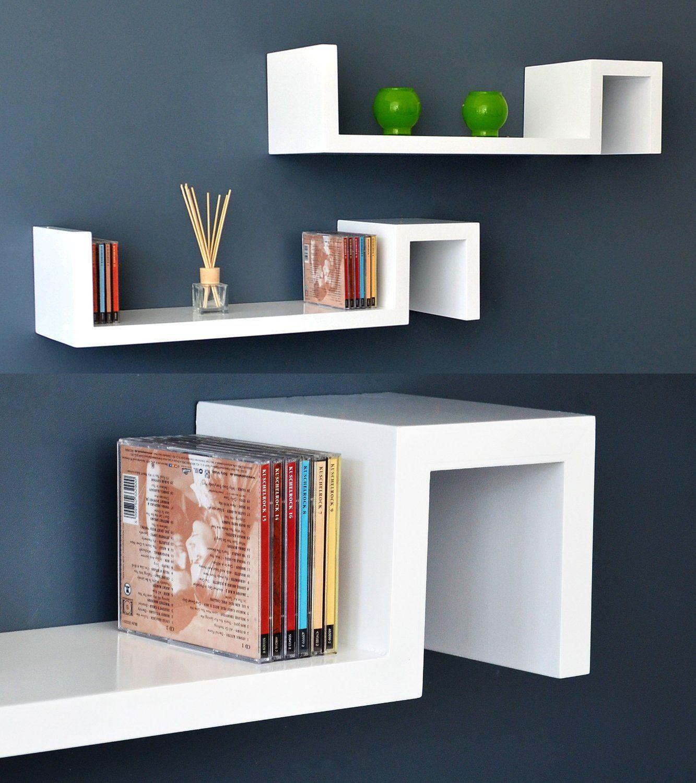 Ts Ideen 5702 Zigzag Shelf Set Amazon Co Uk Kitchen Home