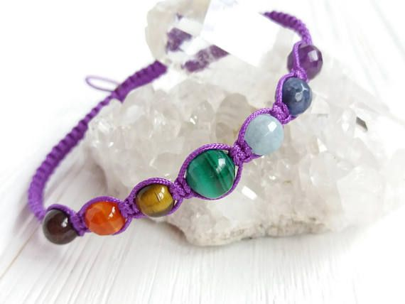7 Chakra Bracelet Www Etsy Minimalistbracelet Ref
