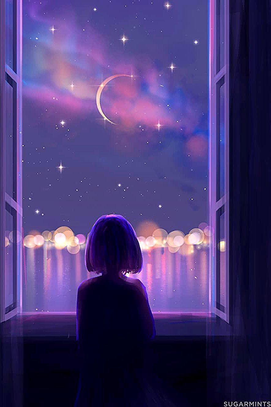 Lily I Paint Dreamworlds V Instagram Sound On Please Thank You Guys So Much For 20k Followers I Ll Anime Wallpaper Anime Scenery Anime Art Girl