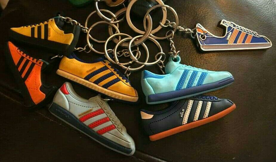 Rare birds Adidas Barcelona with Trimm Trab style soles