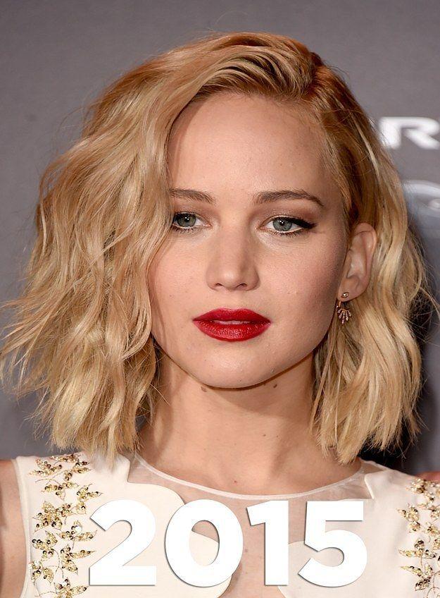 Jennifer Lawrence Shoulder Length Hair Hair Lengths Bob Hairstyles