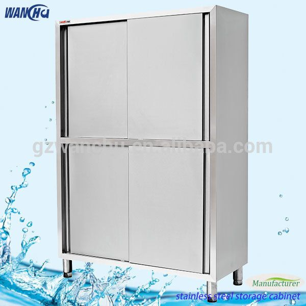 Restaurant Kitchen Storage factory price tall kitchen cabinet stainless steel restaurant