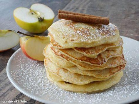 Pancakes aux pommes facile et rapide | La Cuisine d'Adeline