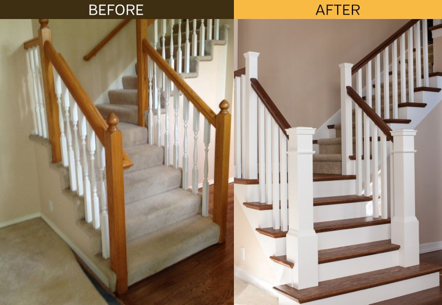 Best What A Difference Stair Skirt Boards Make The New Look Is 400 x 300