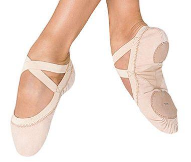 0ade737a8a BLOCH PRO ELASTIC scarpe mezze punte tela danza classica, bloch ...