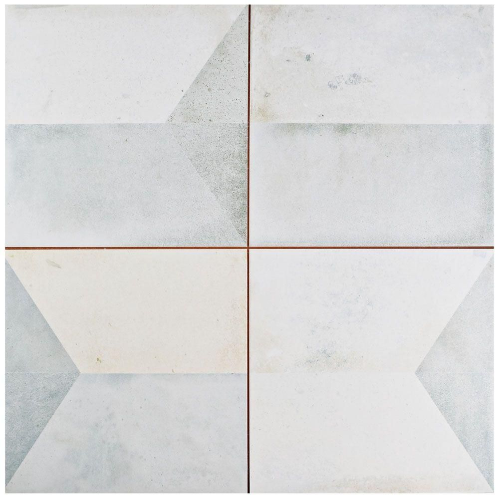 Merola tile geomento 17 58 in x 17 58 in ceramic floor and merola tile geomento 17 58 in x 17 58 in ceramic floor and wall tile 111 sq ft case greylow sheen doublecrazyfo Image collections