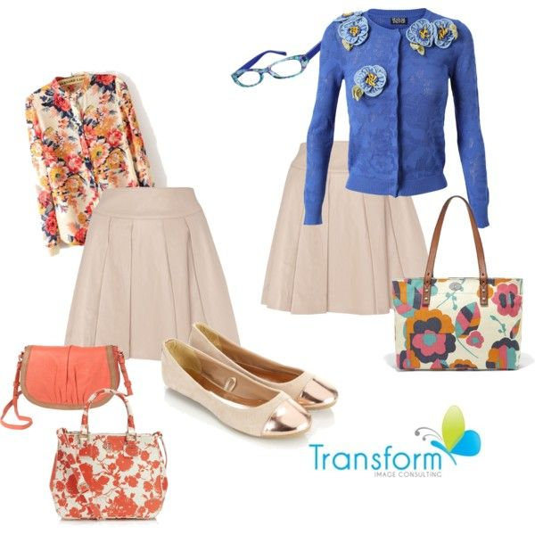 For Danni by transform-image-consulting on Polyvore featuring Meadham Kirchhoff, Alice by Temperley, Accessorize, FOSSIL, Tory Burch, BeckSöndergaard and www.transformimageconsulting.com