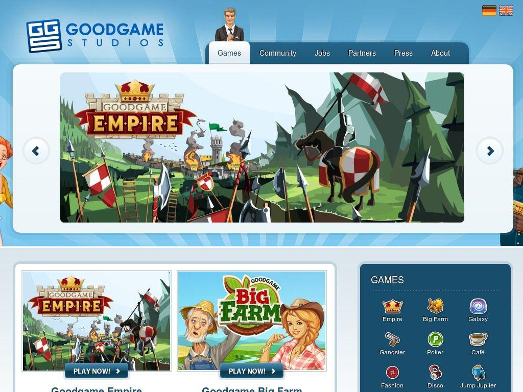 www.goodgamestudios.com Entrar Agora - Pergunte Tecnologia